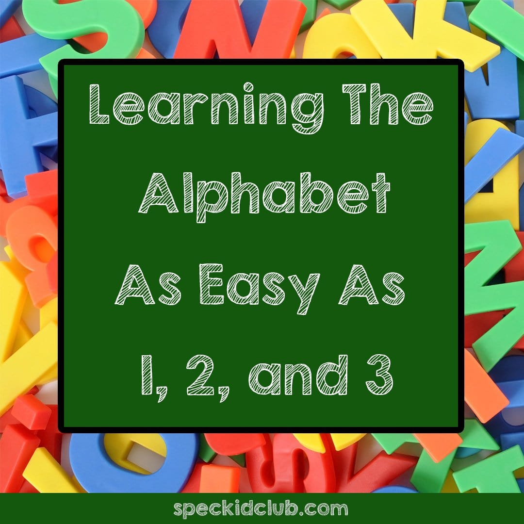 Learning the Alphabet as Easy as 1, 2, and 3