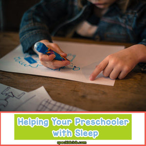 HOW TO: Send Preschooler Early to Bed