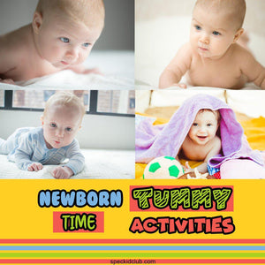 Newborn Tummy Time Activities For Playtime