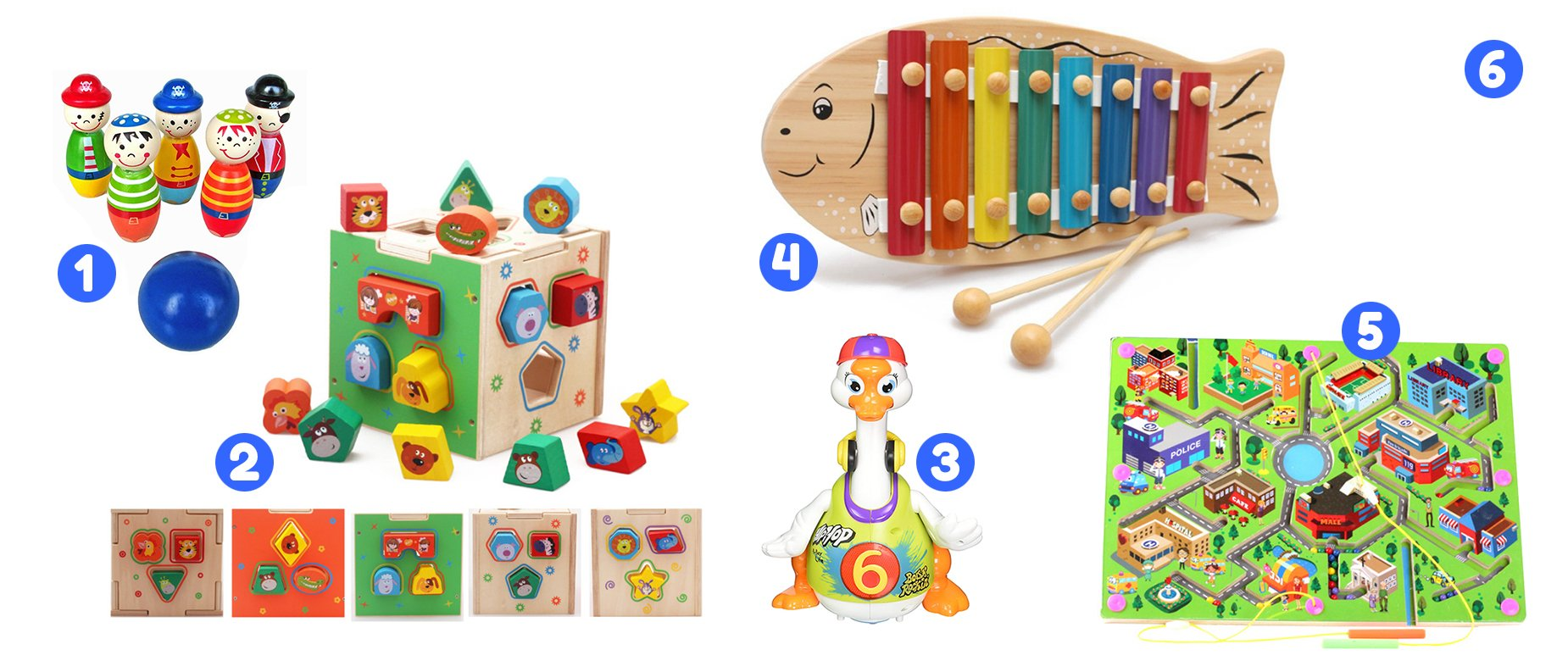 SPEC Kid Club Curated Toy Collection for Ages 18 to 21 Months