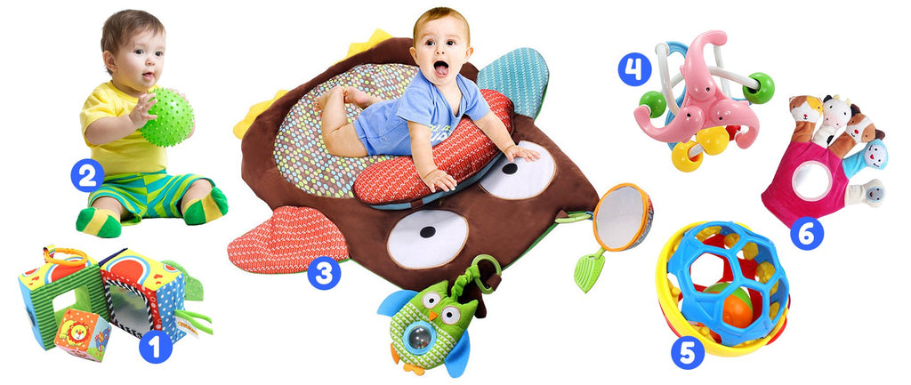 Ages 3 to 6 Months<br>My Very Own Magic Toy Box - Spec Kid Club