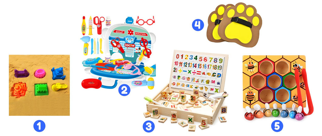 Ages 30 to 33 Months<br>Creative Mind Toy Box - Spec Kid Club