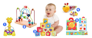 Ages 9 to 12 Months<br>Play is My Day! Toy Box - Spec Kid Club