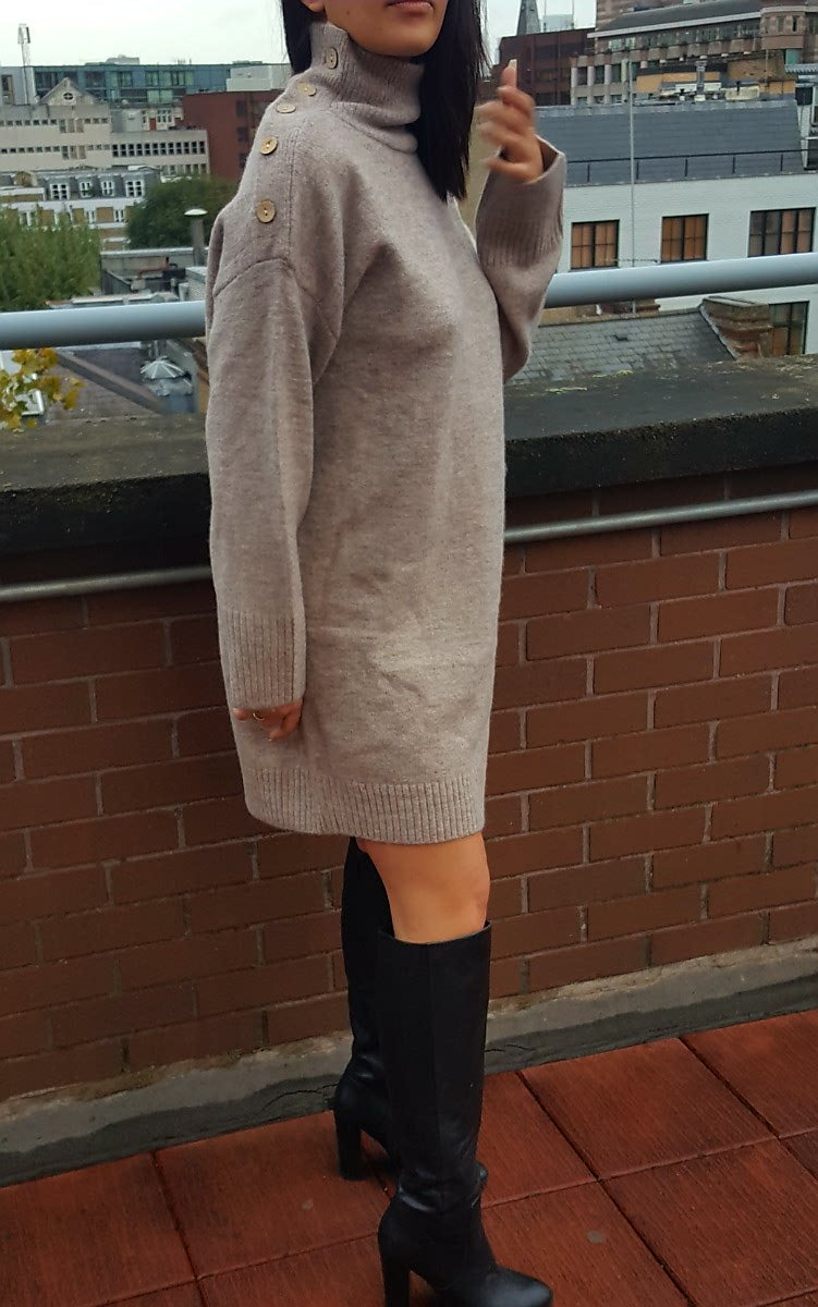 Louiza Jumper Dress 100% wool
