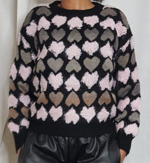 The heart Sweater / Jumper