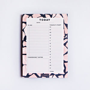 Marble Terrazzo Daily Planner Pad