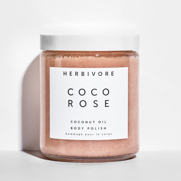 Herbivore Botanicals Coco Rose | Coconut Oil Body Polish | Golden Rule Gallery