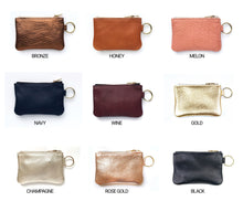 Load image into Gallery viewer, Leather Change Purse