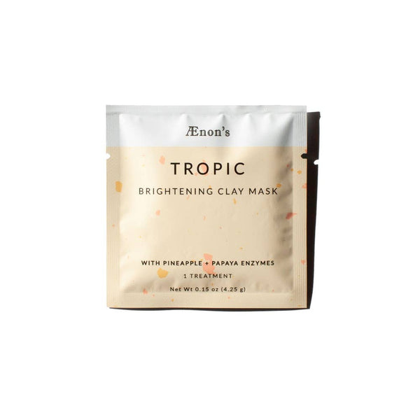 Tropic Brightening Clay Mask | Pineapple and Papaya Enzymes | Brightening Clay Mask | Clean Beauty | Organic Products | Clay Face Mask |  Golden Rule Gallery | Excelsior MN
