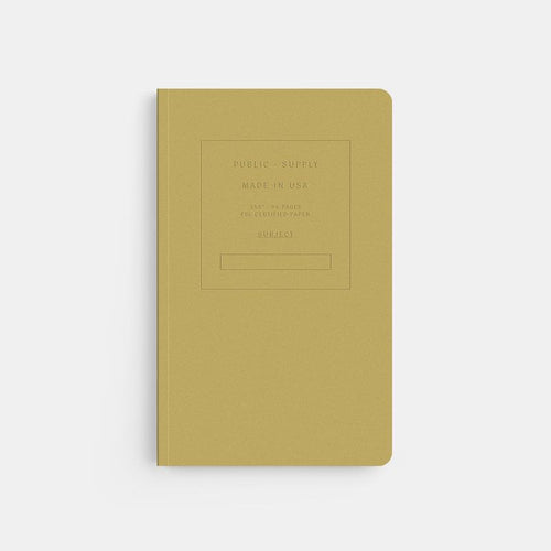 Embossed Soft Cover Notebook in Fuse