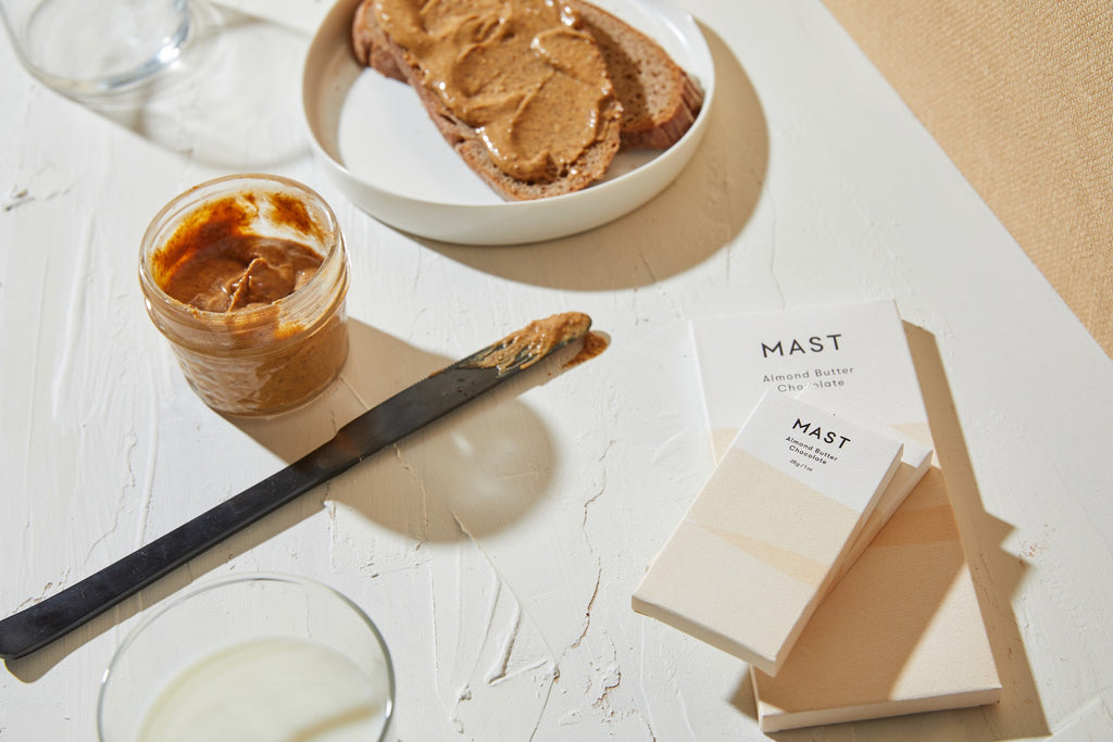 Almond Butter Mast Chocolate Mini Bar | Mast Chocolate | Golden Rule Gallery | Excelsior, MN