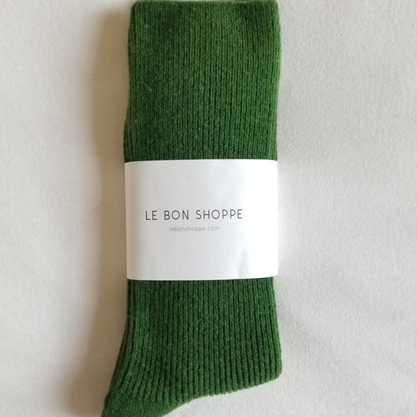 Grandpa Socks in Avocado | Green Tube Socks | Le Bon Shoppe | Golden Rule Gallery | Excelsior, MN