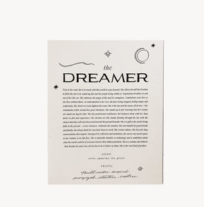 The Dreamer Art Print