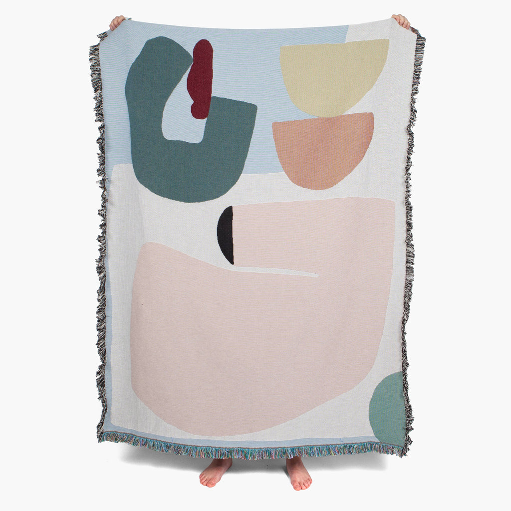 Slowdown Studio Abstract Art Throw | Tapestry | Wall Hanging