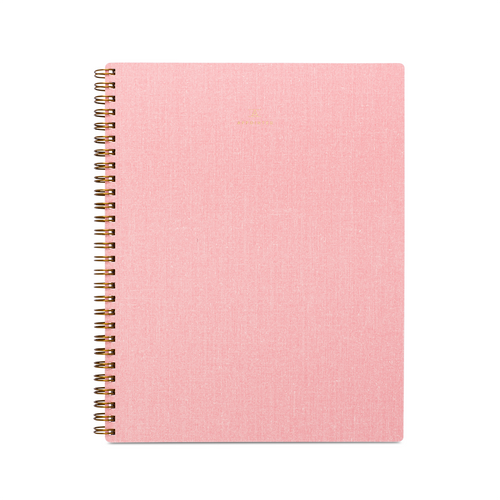 Classic Notebook in Blossom Pink