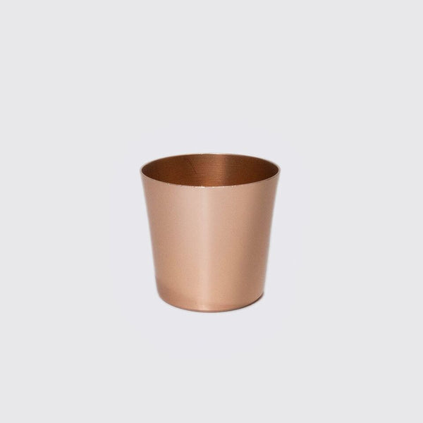 Mezcal Shot Glass in Copper Barware | Mezcal Shot Glass | Copper Shot Glass | Utilitario Mexicano | Golden Rule Gallery | Excelsior, MN
