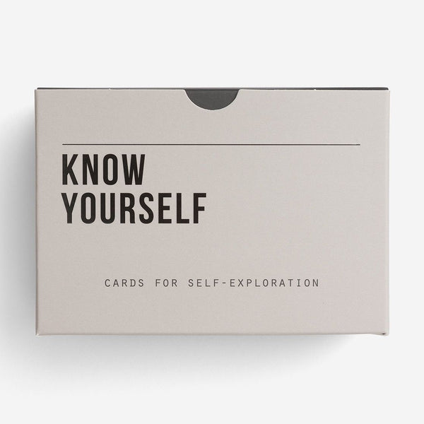 Know Yourself Card Set | Self Awareness Prompts | The School of Life | Self Exploratory Card Set | Self Reflection | Golden Rule Gallery | Excelsior, MN