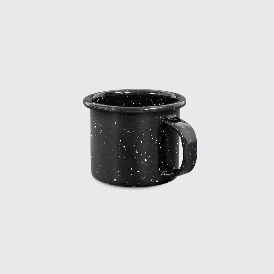 Small Enamel Mug in Black