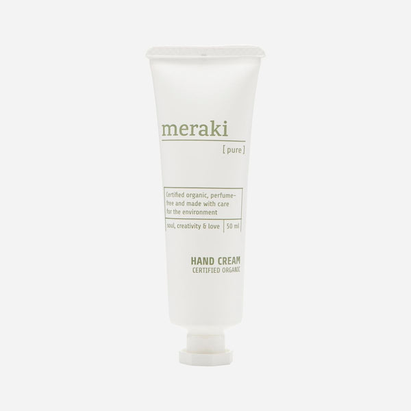 Meraki Pure Hand Cream | Unscented Hand Cream | Sustainable Shopping | Golden Rule Gallery | Excelsior, MN