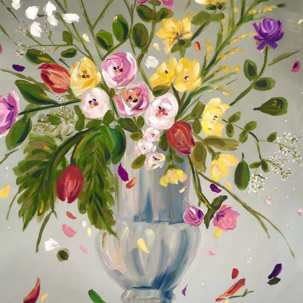 Missy Monson Floral Art | The Story of Us | Original Still Life Painting | Golden Rule Gallery
