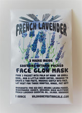 Load image into Gallery viewer, French Lavender Sea Salt Face Glow