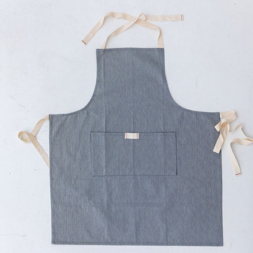 Railroad Stripe Child Apron