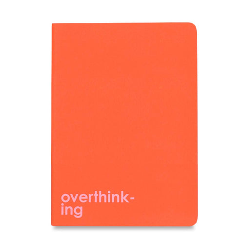 Saddle-Stitch Notebook – Overthinking