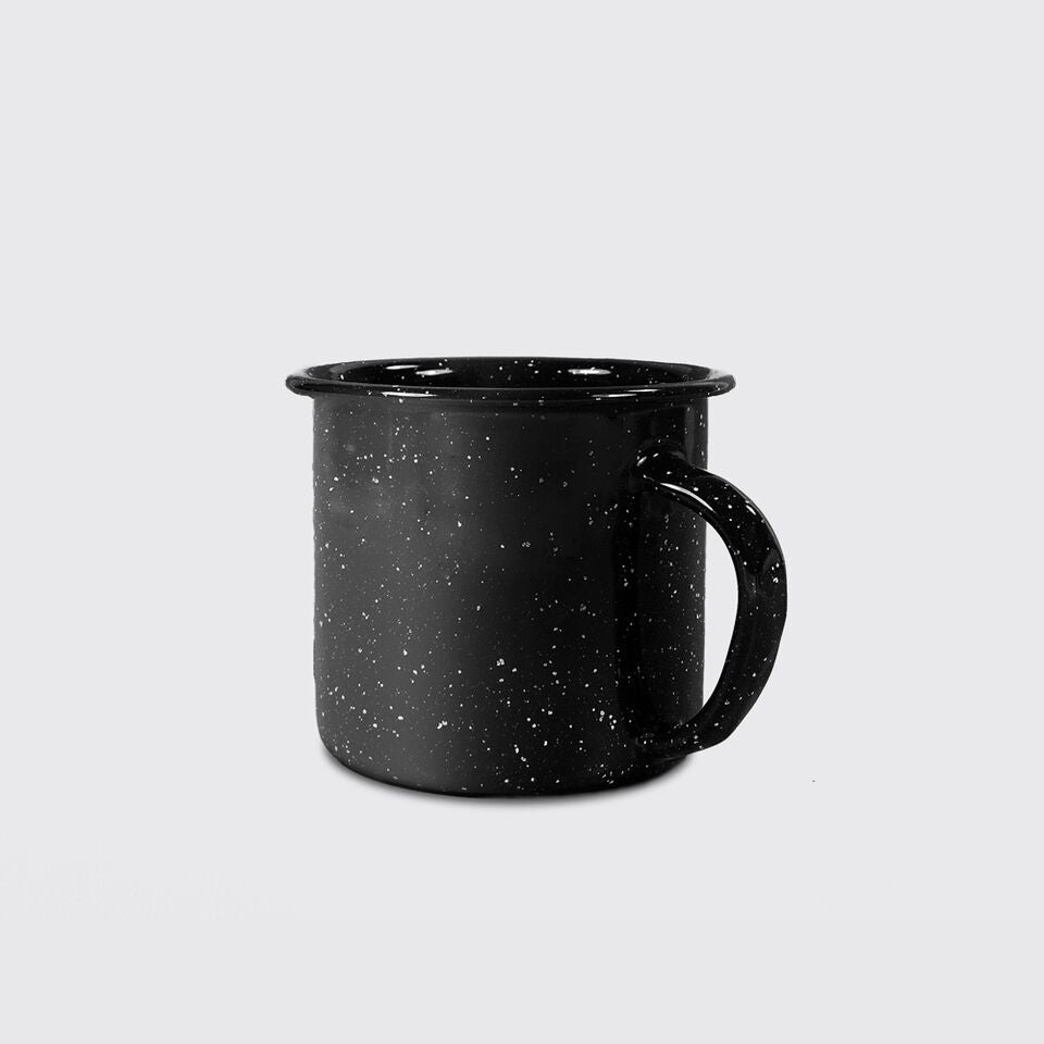 Enamel Mug in Black