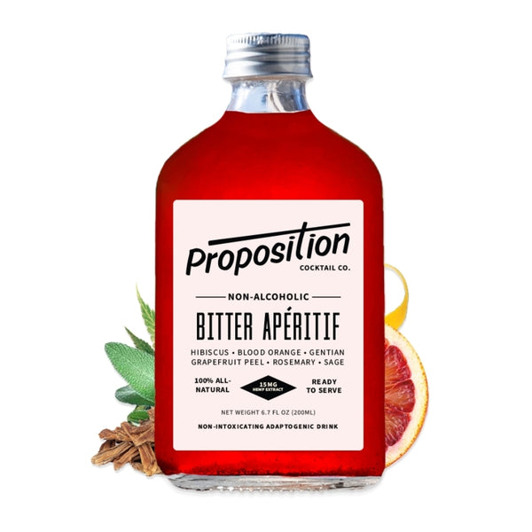 Proposition | Blood Orange Apertif | Golden Rule Gallery