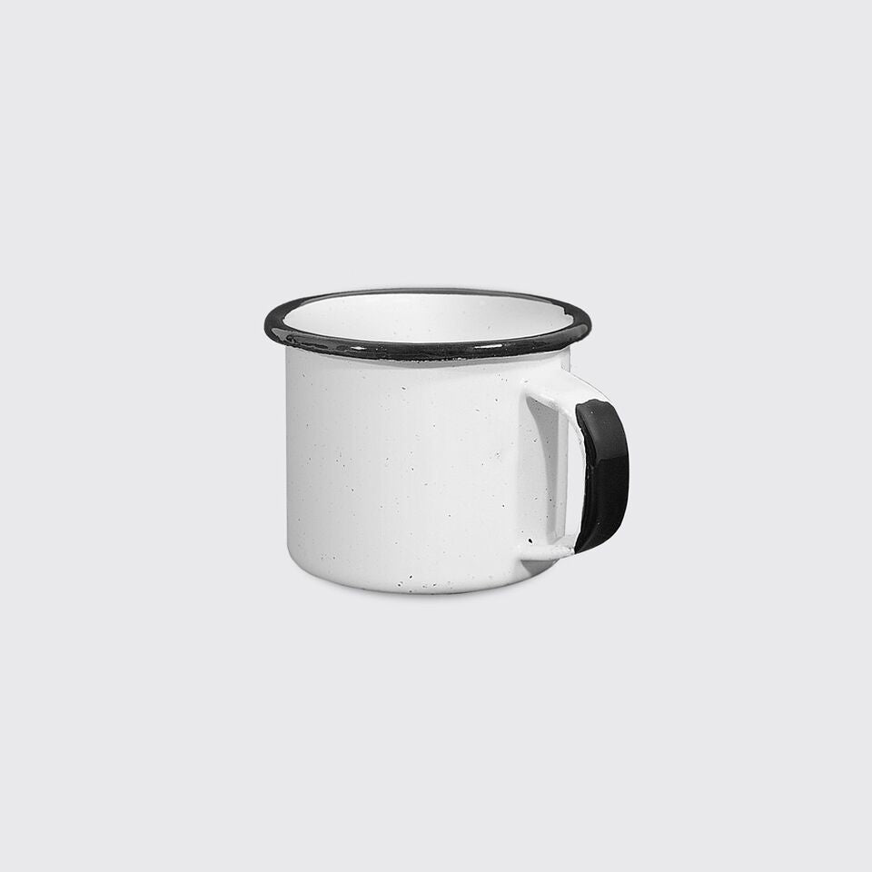 Small Enamel Mug in White