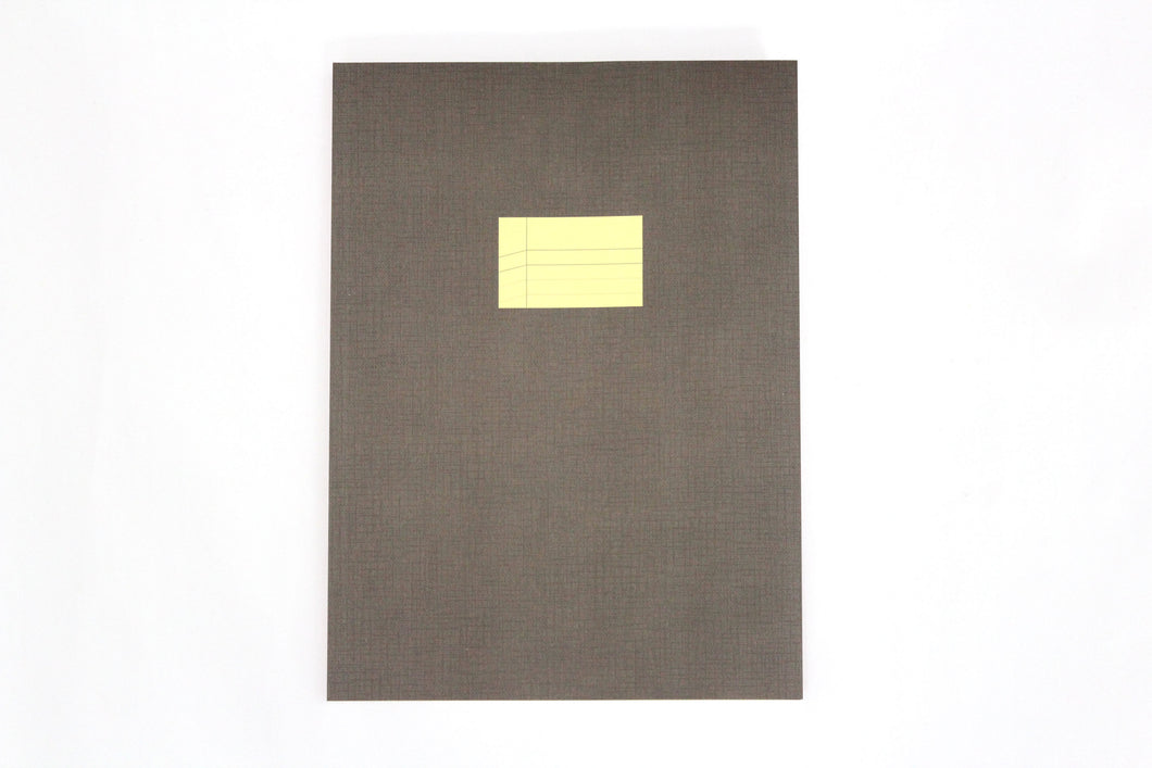 Large Notebook – Gray