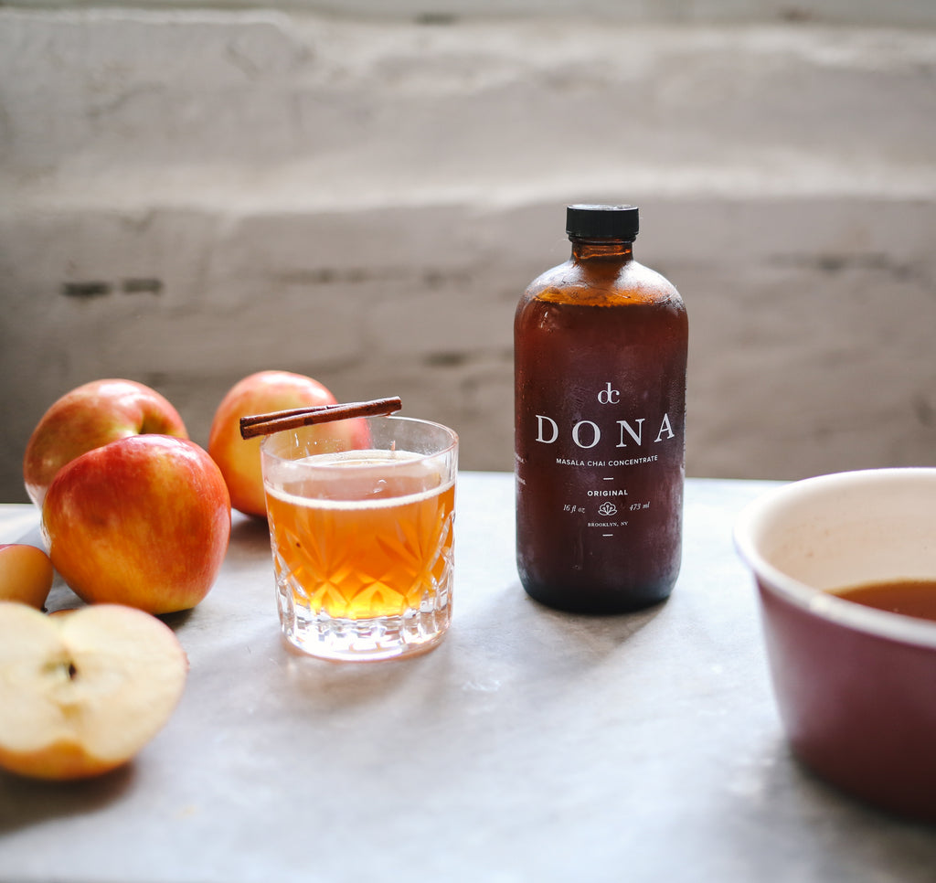 Masala Chai Concentrate | Chai Tea Concentrate | Chai Tea for Coffee | Dona Chai | Golden Rule Gallery | Excelsior, MN
