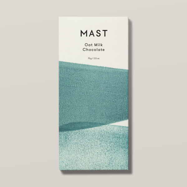 Oat Milk Chocolate | Mast Organic Chocolate | Dairy Free Chocolate | Organic Cocoa Chocolate Bar | Golden Rule Gallery | Excelsior, MN