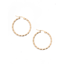 Load image into Gallery viewer, Lasso Hoop Earrings