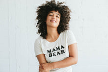 Load image into Gallery viewer, Mama Bear Tee in Oatmeal