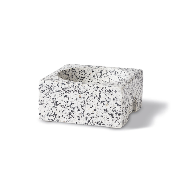 Terrazzo Pet Bowl | Dog Drinking Bowl | Dog Food Bowl | Golden Rule Gallery | Excelsior, MN