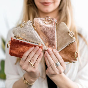 Leather Change Purse