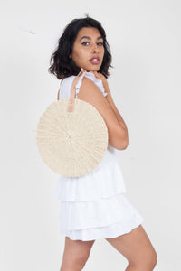 Scallop Midi Bag