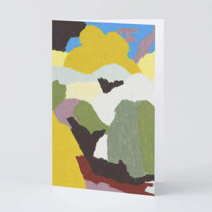 Abstract Landshapes Art Card