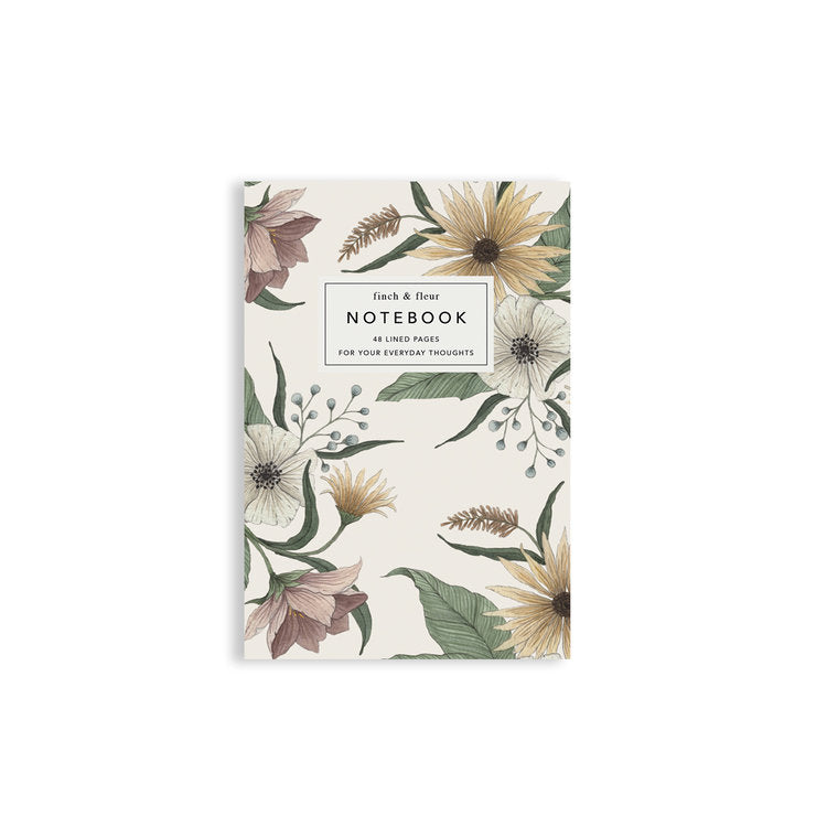 First Blooms Pocket Notebook