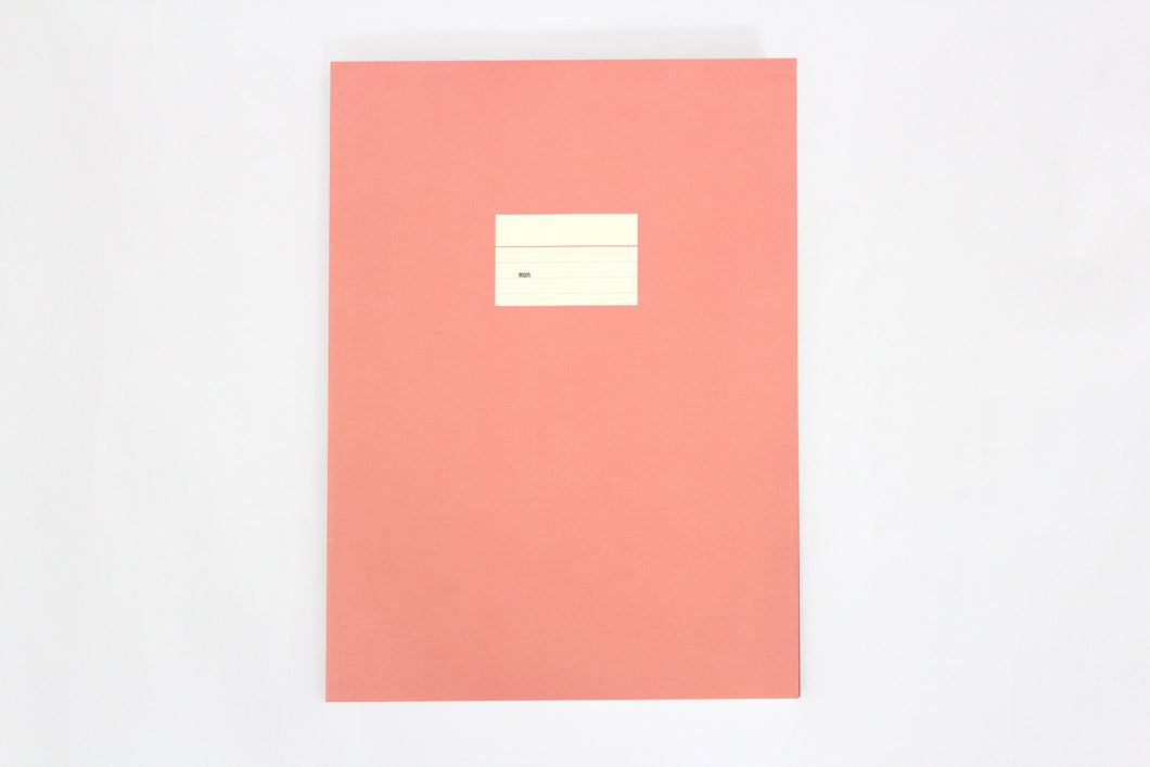 Large Notebook – Pink