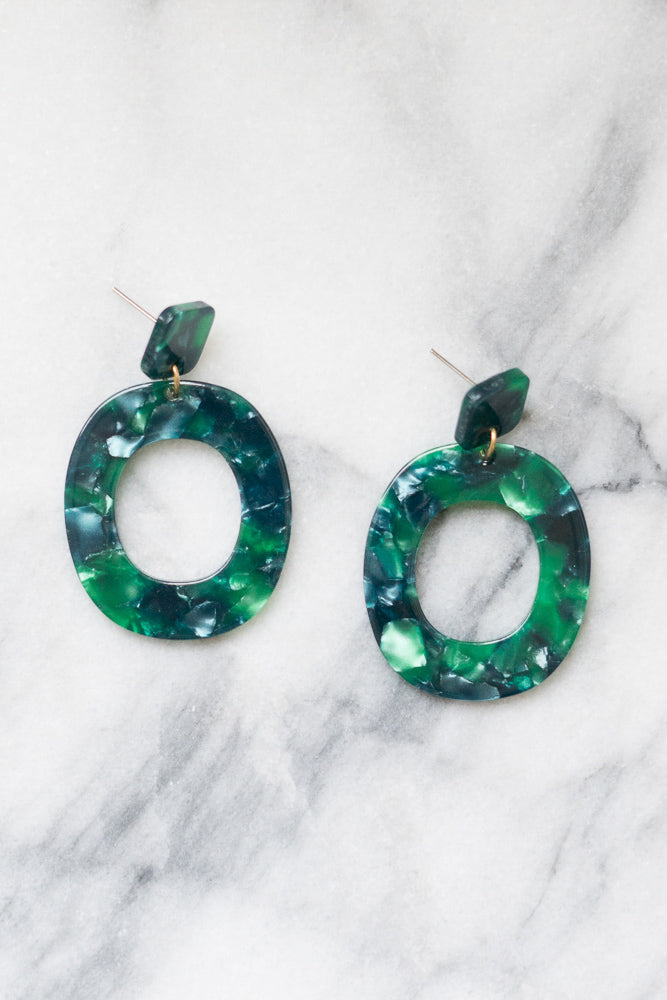 Rilla Acrylic Statement Earrings