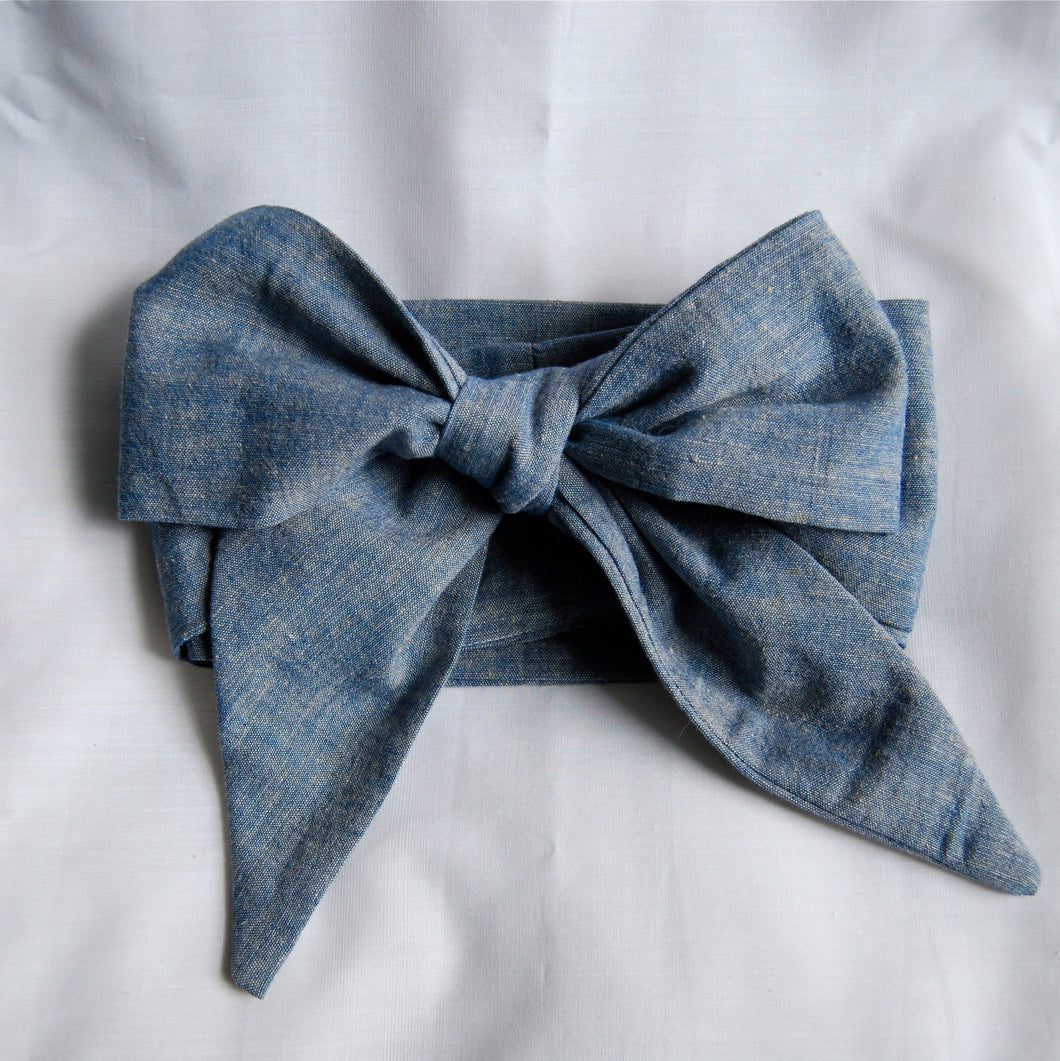 Chambray Hair Scarf