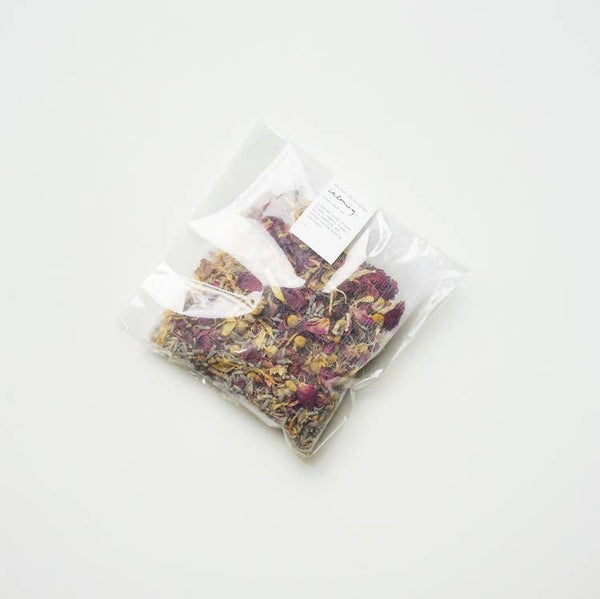 Calming Bath Tea Soak | Tea Bag for Bathing | Among The Flowers | Golden Rule Gallery | Excelsior, MN