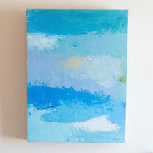 Load image into Gallery viewer, Blue Sea Original Oil Painting