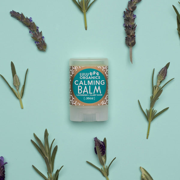 LULU ORGANICS Calming Balm | Lavender and Sage Balm | Golden Rule Gallery | Excelsior, MN
