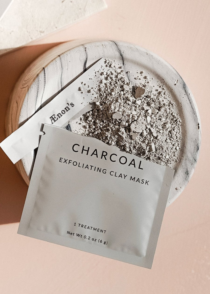 Charcoal Exfoliating Face Mask | Exfoliating Face Mask | Charcoal Face Mask | Clay Face Mask | Clean Beauty | Organic Beauty Products | Golden Rule Gallery | Excelsior MN