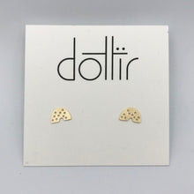 Load image into Gallery viewer, Dotted Post Mini Earrings