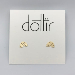 Dotted Post Mini Earrings