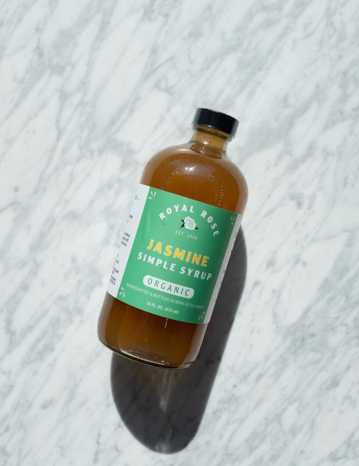 Organic Jasmine Simple Syrup